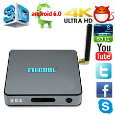 Hot S912 4K Mini 2G+16G MECOOL BB2 1080P Smart TV Box Android6.0 Octa Core
