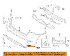 KIA OEM 14-18 Forte5-Bumper Trim-Reflector Left 92405A7100