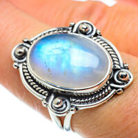 Rainbow Moonstone 925 Sterling Silver Ring Size 8 Ana Co Jewelry R43265F