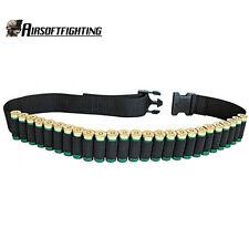 "52"" 25Round Shotgun Shell Ammo Belt Nylon Sling Bandolier For  12 20 24 GA"