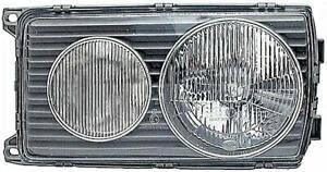 HELLA Headlight Diffusing Lens Left RHD Fits MERCEDES S123 W123 1238261590