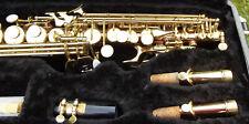 Thomann TSS-350 Sopran-Saxophon + K&M Ständer. Top Zustand und Sound! 2 S-Bögen.