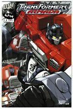 2002 TRANSFORMERS ARMADA #4, 5, 7 & 7A LOT OF 4 DW COMIC BOOKS