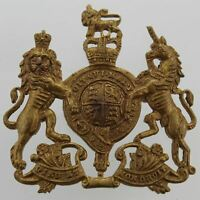 Queens Crown General Service Corps / Regiment Cap Badge - EW15