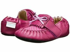 NIB Robeez Shoes Mini Shoez Fancy Pants Plum Mauve 3-6m 2