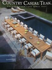 COUNTRY CASUAL TEAK CATALOG OUTDOOR TEAK OUTDOOR FURNITURE SINCE 1977 BRAND NEW