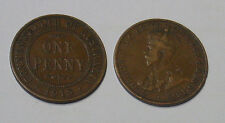 1918 Australian penny - decent selected example, VG - 100 years old.