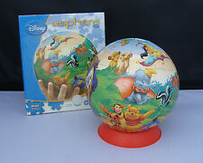 "Disney Esphera 360 Sphere Jigsaw Puzzle 60 Pieces 6"" CAST OF CHARACTERS"