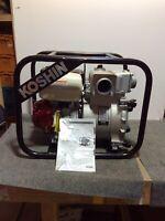 "NEW!! Koshin KTH-80S Portable  3"" Water Trash Pump Gas Power Honda GX270 9HP"