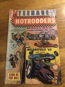 Teenage Hotrodders #13 1965- INDIANAPOLIS 500- Charlton G