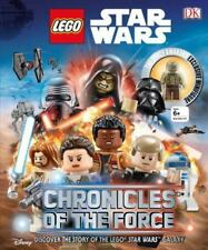 """NEW LEGO STAR WARS """"CHRONICLES OF THE FORCE"""" Book & Figure - Geek Fuel EXP Vol 1"""