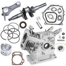 New Engine Block Rebuild Fits Honda GX160 Connecting Rod Piston Gear Crankshaft