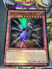 OCCASION Carte Yu Gi Oh GRAND DRAGON D'OR SIVIN SR02-FR001