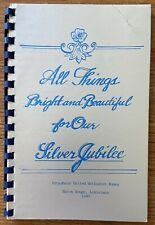 Vintage 1980 All Things Bright Cookbook Broadmoor Church Baton Rouge Louisiana