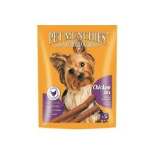 PET MUNCHIES 100% NATURAL DOG TREATS REAL CHICKEN MEAT STIX 50G