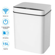 15L Touchless Kitchen Trash Can Intelligent induction Sensor Waste Garbage Bin√