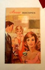1960s Collectible Arrow Cordials & cocktails Booklet With Recipes