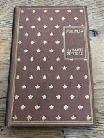 poems - by alice meynell .published by john lane the bodley head 1903