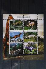 Dinosaurier 381 prehistoric animals Urzeittiere Block KB sheets ** MNH Mali 2016