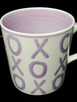 Valentines Day Decor Hues & Brews Hugs and Kisses Lavender Coffee Or Tea Mug
