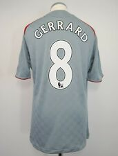 Liverpool Away Football Shirt Adult Medium GERRARD #8 2008/2009