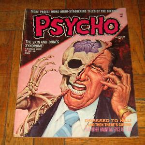 PSYCHO # 1  JAN. 1971  SKYWALD PUBL.
