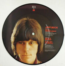 "Jeff Beck Hi ho Silver Lining Single 7"" UK 1982 fotodisco color"