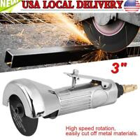 "3"" Heavy Duty High Speed Pneumatic Cut Off Tool Air Push Metal Cutting Tool New"