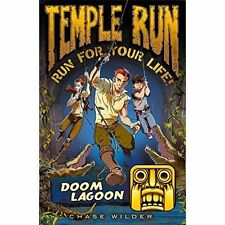 Temple Run: Doom Lagoon (Temple Run: Run For Your Life!), Good Condition Book, W