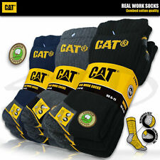 CAT® CATERPILLAR WORK Damen Herren Arbeitssocken Business Socken Strümpfe🧦35-50