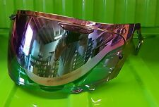 Arai Vas V Type iridium Mirror Visor RX-7V RX-7X Corsair X Pinned for Max Vision
