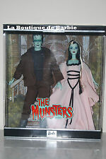 THE MUNSTERS GIFTSET, BARBIE LOVES POP CULTURE COLLECTION, 50544, 2001, NRFB