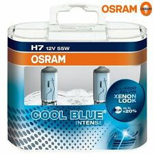 2 x Bombillas Osram Cool Blue Intense H7 4200K Faros Halogeno Lamparas Luz Coche