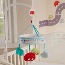 GRO ALL ABOARD SAFER SLEEP NURSERY SET MUSICAL COT MOBILE + MORE - BABY GIFT
