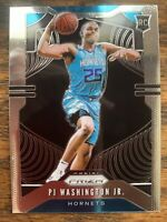 2019-20 Panini Prizm PJ Washington Jr. Rookie Card RC #258 Hornets UK