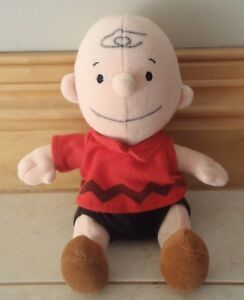 Peanuts Charlie Brown. Plush with rattle 20 cm