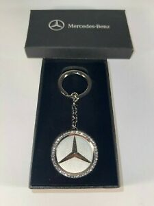 Crystal Mercedes-Benz Key Chain + Bonus Key Chain