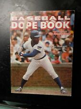 Vintage baseball dope book pictures stats sporting news records 1977 Madlock