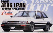 Fujimi Id-61 1/24 Scale Model Kit Toyota Corolla Levin Ae86 1600 GT Apex Coupe