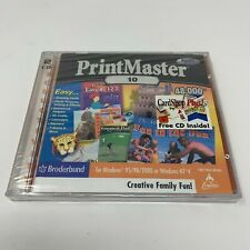 PrintMaster 10 - PC (BRAND NEW)