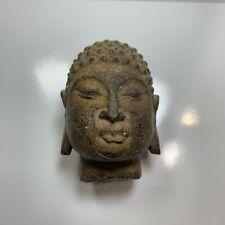 Chinese Antique 14th Century Cast Iron Buddha Head