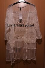 Summer Cardigan Cover Up 4xl 18/20