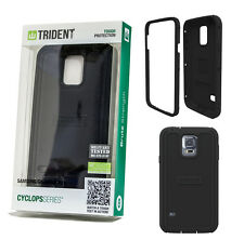 Trident Cyclops Tough Protection Brute Strength case Samsung Galaxy S5 Black