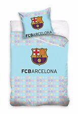 NEW Official FC Barcelona FCB Baby Toddler Bedding Set 100% COTTON Cot Cotbed 02