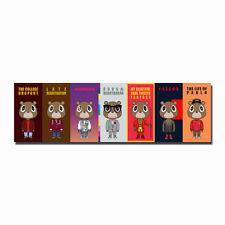 Kanye West Bear Kaws Paws Custom Fabric Poster Art TY58-20x30 24x36 Inch