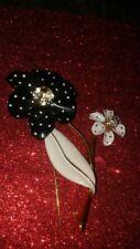 Vintage Huge Flower Beautiful Brooch