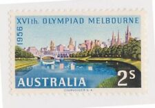 Olympics Australian Pre-Decimal Stamp Individuals