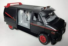 Van GMC Vandura a Team 1/18 Metal Van a-Team
