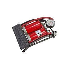 Foot Pump Double Barrel 440cc Pumping Car Tyre Bicycle Wheel Automotive Tools