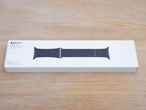 Apple Watch Leather Loop Strap Midnight Blue 42mm 44mm Medium 3,4,5,6 MLHL2ZM/A
